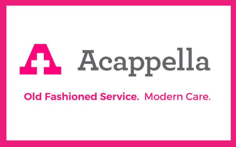 Acappella Rack Cards and Business Cards