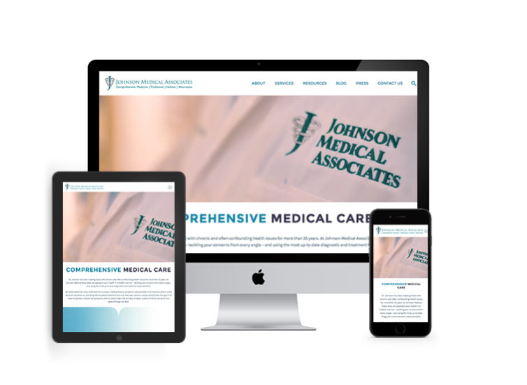 Johnson Medical Associates Website