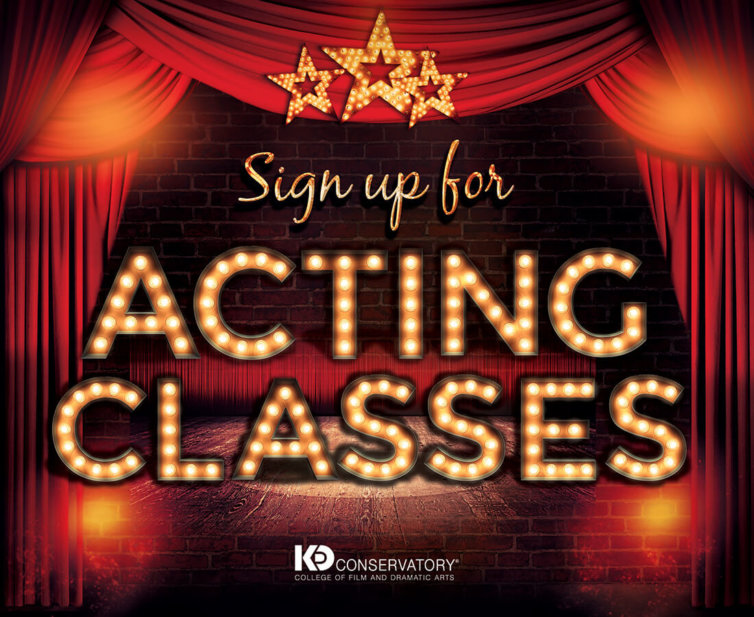 KD Studio Acting Classes Print Card