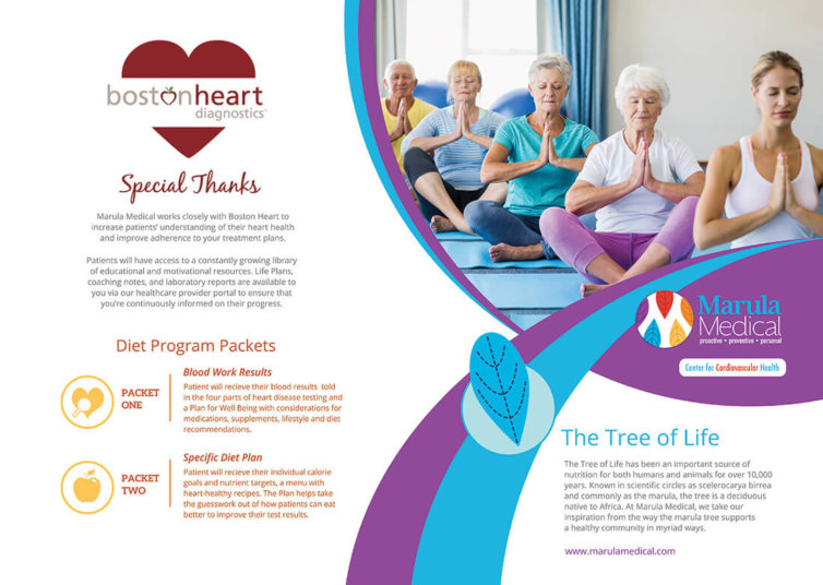 Marula Medical Bi-Fold Brochure