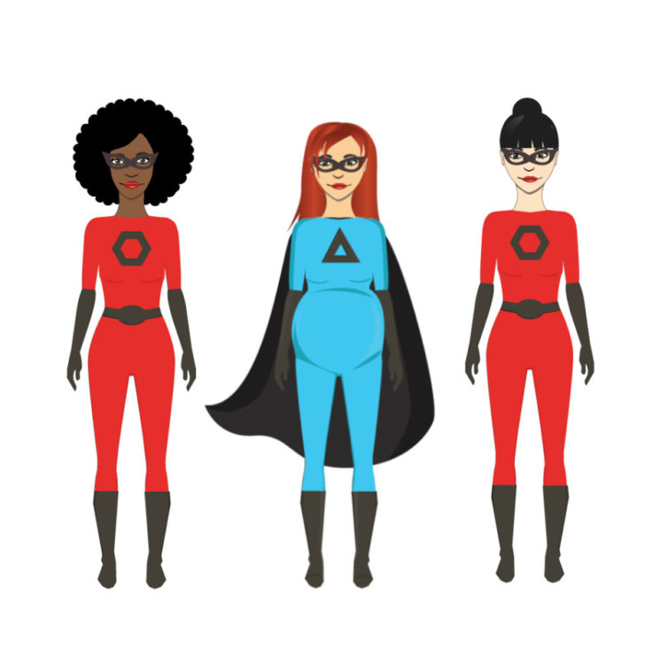 Superwomen Characters